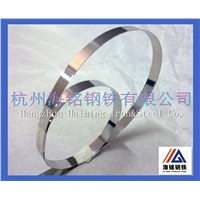 cold rolled high quality 202 stainless steel strip round edge