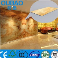 cheaper than marble faux stone plastic composite enduring decorative low price interior wall panel