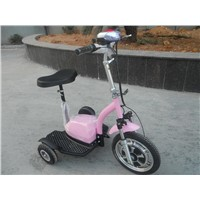 Electric Tricycle Scooter with 800W Motor, 48V/20ah Lithium Battery.