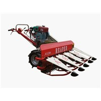 Hot Sale New Design Mini Rice Reaper Harvester