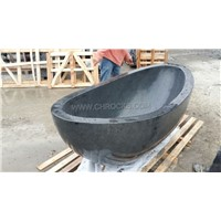Black Granite Bathtub,Stone Bathtub,Black Marble Bathtub