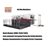 Semi-auto Corrugated Paperboard Die Cutting and Creasing Machine