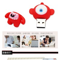 Custom personalized PVC cool USB disk