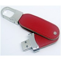 USB  Drive,Leather USB Flash Drive with 10-year Minimum Data Retention