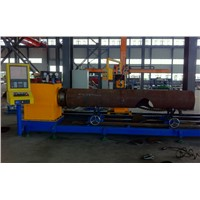 3 Axis steel pipe cnc plasma cutting machine