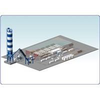 Aereted Autoclave Concrete Plant / Aac Block Production Line