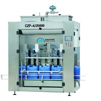 CZP-4/25000 Inline Time Control Liquid Filling Machine