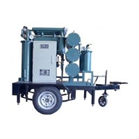 Series ZYD-M Mobile Trailer Mounted Transformer Oil Treatment Plant