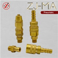 ZJ-MA brass mold coolant lines quick connect couplings