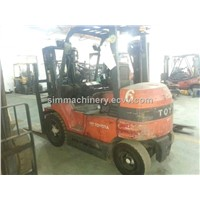 used toyota electric power 3t forklift second hand toyota electric 3t lifter