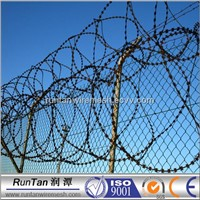 razor barbed wire for fencing of residences
