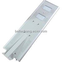 Bridgelux Chips 30w all in one LED Integrated Solar Street Light