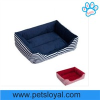 Big Dog Bed Classic Strip Dog Beds Canvas & Sponge Padded For All Season