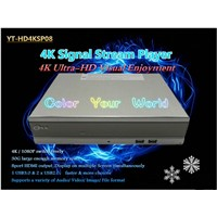 High-definition Digital TV Stream Player 4K HDMI Splitter 1x8
