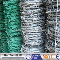 PVC barbed iron wire