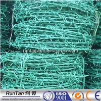 PVC coated Barb Wire for fence in china