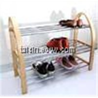 birch bend wood shoe rack