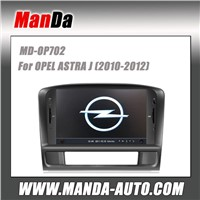 2 din hd touch screen car autoradio for OPEL ASTRA J (2010-2012) indash audio radio gps