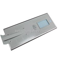 All in one 60W LED Integrated Solar Street Light
