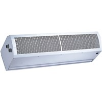 HYDRONIC HEAT AIR CURTAIN - NORMAL & HEATING WIND