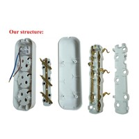 Good Quality Power Strip Bar, Multiple Power Receptacle, Universal Plug Outlet Socket