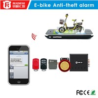 Mini motorcycle tracker RF-V12+ & Electric Bicycle Alarm anti-theft system RF-V12+