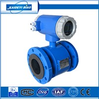 low price china electromagnetic pulse water flow meter