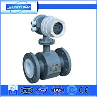 intelligent electromangetic hot water flow meter measuring tool made in china