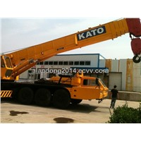used construction machinery crane 80Ton kato