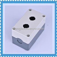 2 hole waterproof push button switch box