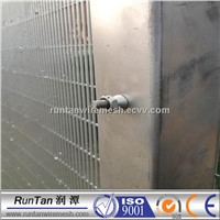 358 wire security anti climb fence panel