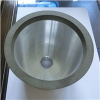 Resin bond diamond grinding wheel for machining carbide tools