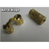 Solid Brass Barrel Hinge