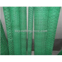 Haotain high quality colorful pvc coated chain link fence factory