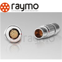 lemo Series-B Metal compatible Connector, plug FGG,0B 4 pin ,male/female solder type