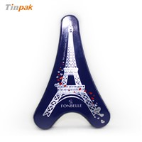 Eiffel Tower tin can for gift packaging