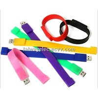USB Flash Drive ,  Wristband USB Flash Drives with USB1.1 &  2.0 Interface