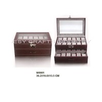 Double layer watch box(W0001)