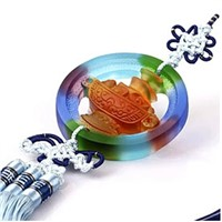 liu li car pendent-----------lucky cornucopia (crystal ornaments, crystal decorations)