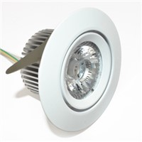 COB LED Down Light/Driverless Dimmable Recessed Lamp/Buit-in LED Downlight