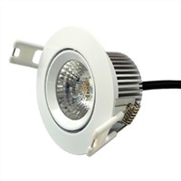 6W Built-in COB LED Down Light/Driver-free Dimmable Recessed Lamp