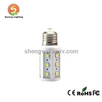 Indoor lighting led corn bulb 5W ,E27 base,360 beam angle,warranty for 3years