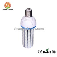 E40 LED Corn Lamp UL, 80W, 10076lm, SMD 2835, Fin Heat Sink, ETL, UL, TUV, PSE Certified