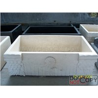 Galala Marble Farm Sink, Marble Kitchen Sink,Stone Farm Sink
