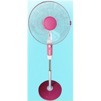16 inch stand fan pedestal fan with fashionable design for home and offfice  cross or roung base