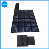 60W  amorphous folding and flexible solar panel charger