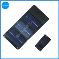 3W 5V amorphous folding and flexible mobile solar charger