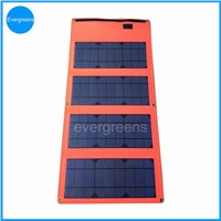 36W monocrystal foldable solar car battery charger