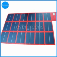 108W 18V amorphous folding and flexible solar charger