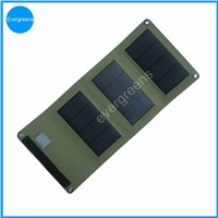 5W folding mono solar cell phone charger